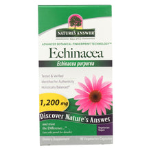 Load image into Gallery viewer, Nature's Answer - Echinacea Herb - 90 Vcaps