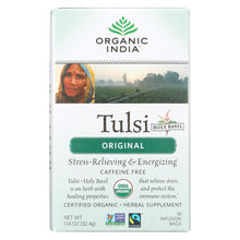 Load image into Gallery viewer, Organic India Tulsi Tea Original - 18 Tea Bags - Case Of 6