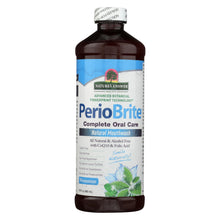Load image into Gallery viewer, Nature's Answer - Periowash Mouthwash Alcohol-free Winter Mint - 16 Fl Oz