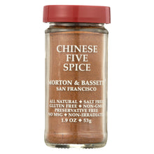 Load image into Gallery viewer, Morton And Bassett Seasoning - Chinese Five Spice - 2.3 Oz - Case Of 3