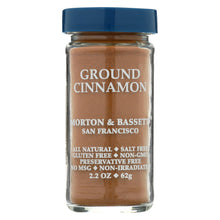 Load image into Gallery viewer, Morton And Bassett Seasoning - Cinnamon - Ground - 2.7 Oz - Case Of 3