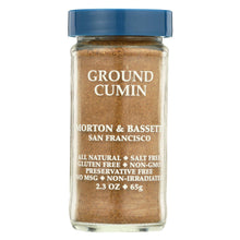 Load image into Gallery viewer, Morton And Bassett Seasoning - Cumin - Ground - 2.3 Oz - Case Of 3