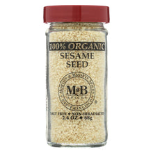 Load image into Gallery viewer, Morton And Bassett 100% Organic Seasoning - Sesame Seed - 2.4 Oz - Case Of 3