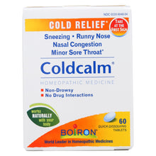 Load image into Gallery viewer, Boiron - Coldcalm Cold - 60 Tablets