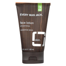 Load image into Gallery viewer, Every Man Jack Face Lotion And Post Shave - Fragrance Free - 4.2 Oz