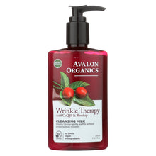 Load image into Gallery viewer, Avalon Organics Coq10 Facial Cleansing Milk - 8.5 Fl Oz