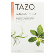 Load image into Gallery viewer, Tazo Tea Herbal Tea - Refreshing Mint - Case Of 6 - 20 Bag