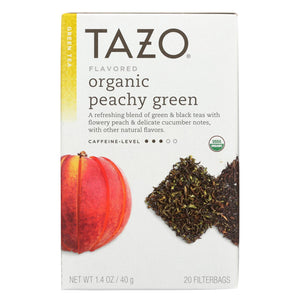 Tazo Tea Organic Green Tea - Case Of 6 - 20 Bag