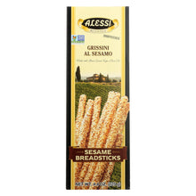 Load image into Gallery viewer, Alessi - Breadsticks - Sesame - Case Of 6 - 4.4 Oz.