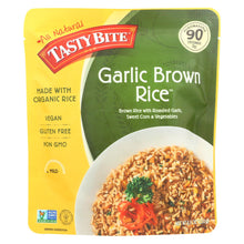 Load image into Gallery viewer, Tasty Bite Rice - Garlic Brown - 8.8 Oz - Case Of 6