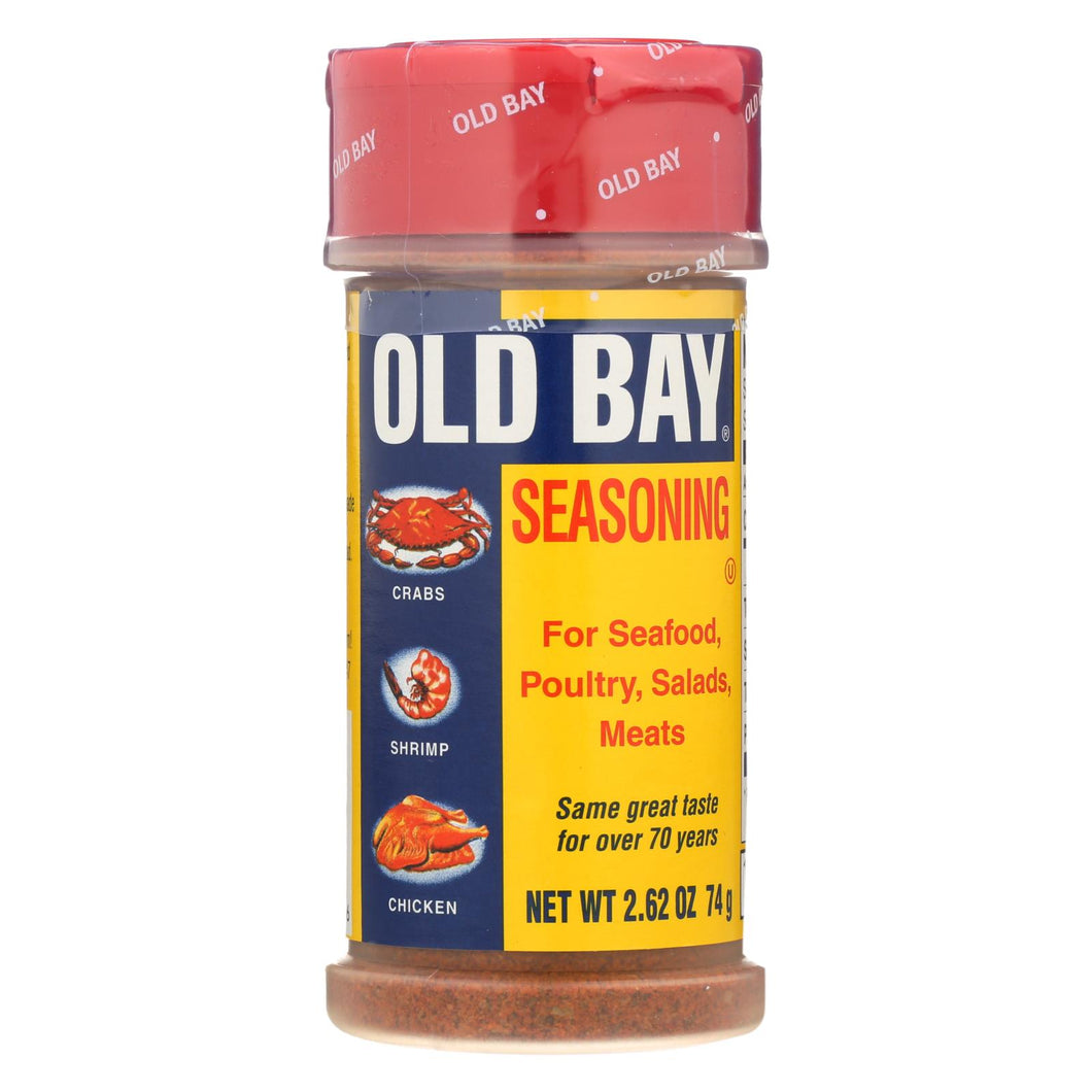 Old Bay - Original Seasoning - Case Of 12 - 2.62 Oz.