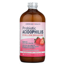 Load image into Gallery viewer, American Health - Acidophilus Natural Strawberry - 16 Fl Oz
