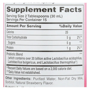 American Health - Acidophilus Natural Strawberry - 16 Fl Oz