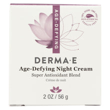 Load image into Gallery viewer, Derma E - Age-defying Night Creme With Astaxanthin And Pycnogenol - 2 Oz.