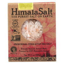 Load image into Gallery viewer, Himalasalt Refill Box - Coarse Grain - 7 Oz - Case Of 6