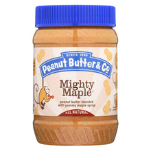 Load image into Gallery viewer, Peanut Butter And Co Peanut Butter - Mighty Maple - Case Of 6 - 16 Oz.