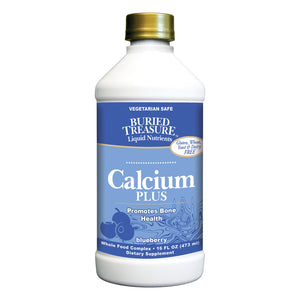 Buried Treasure - Calcium Plus Blueberry - 16 Fl Oz
