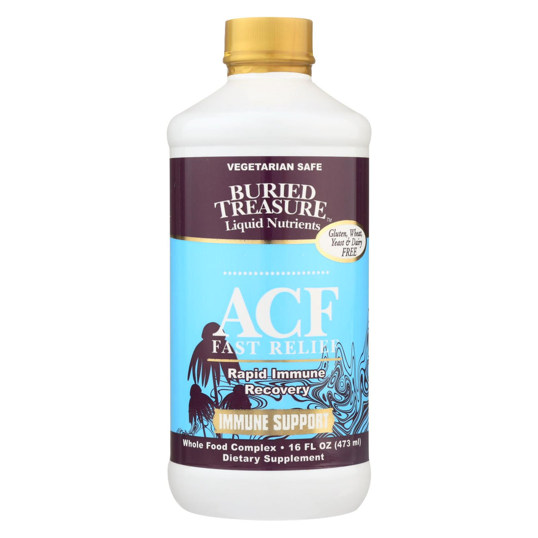 Buried Treasure - Acf Fast Relief - 16 Fl Oz