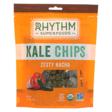 Load image into Gallery viewer, Rhythm Superfoods Kale Chips - Zesty Nacho - Case Of 12 - 2 Oz.