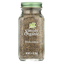 Load image into Gallery viewer, Simply Organic Black Pepper - Organic - Medium Grind - 2.31 Oz