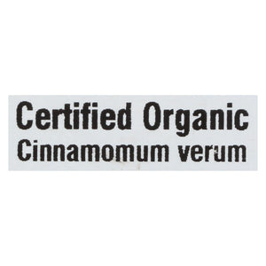 Frontier Herb Cinnamon - Organic - Fair Trade Certified - Powder - Ground - Ceylon - Bulk - 1 Lb