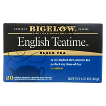 Load image into Gallery viewer, Bigelow Tea English Teatime Black Tea - Case Of 6 - 20 Bags