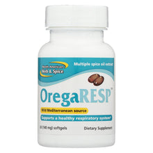 Load image into Gallery viewer, North American Herb And Spice Oregaresp - 60 Softgels