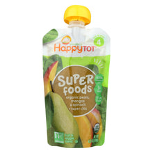 Load image into Gallery viewer, Happy Baby Happytot Organic Superfoods Spinach Mango And Pear - 4.22 Oz - Case Of 16
