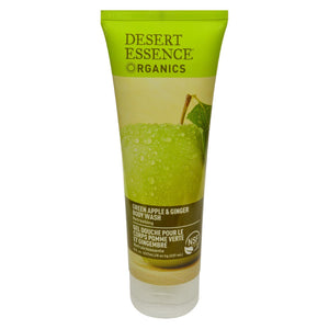 Desert Essence - Body Wash Green Apple And Ginger - 8 Fl Oz
