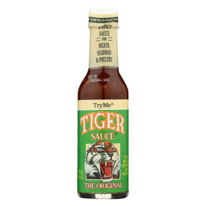 Try Me Tiger Sauce - Case Of 6 - 5 Fl Oz.