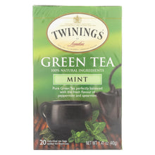 Load image into Gallery viewer, Twining's Tea Green Tea - Mint - Case Of 6 - 20 Bags