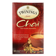 Load image into Gallery viewer, Twining's Tea Chai - Case Of 6 - 20 Bags