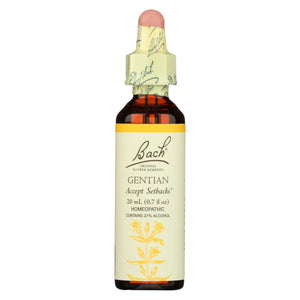 Bach Flower Remedies Essence Gentian - 0.7 Fl Oz