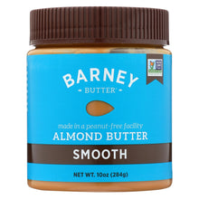 Load image into Gallery viewer, Barney Butter - Almond Butter - Smooth - Case Of 6 - 10 Oz.