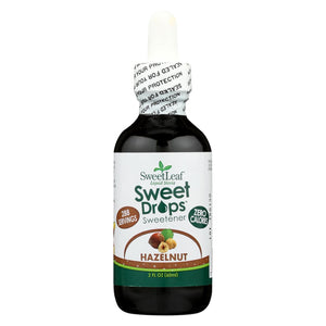 Sweet Leaf Liquid Stevia Sweet Drops - Hazelnut - 2 Oz