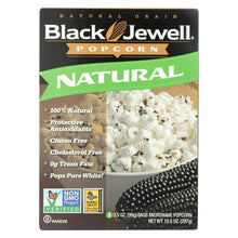 Load image into Gallery viewer, Black Jewell Microwave Popcorn - Natural - Case Of 6 - 10.5 Oz.
