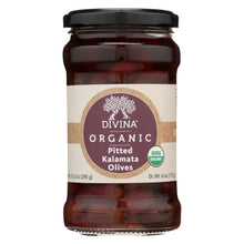 Load image into Gallery viewer, Divina - Organic Pitted Kalamata Olives - Case Of 6 - 6 Oz.