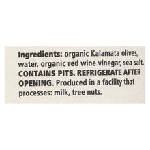 Load image into Gallery viewer, Divina - Organic Kalamata Olives - Case Of 6 - 6.35 Oz.