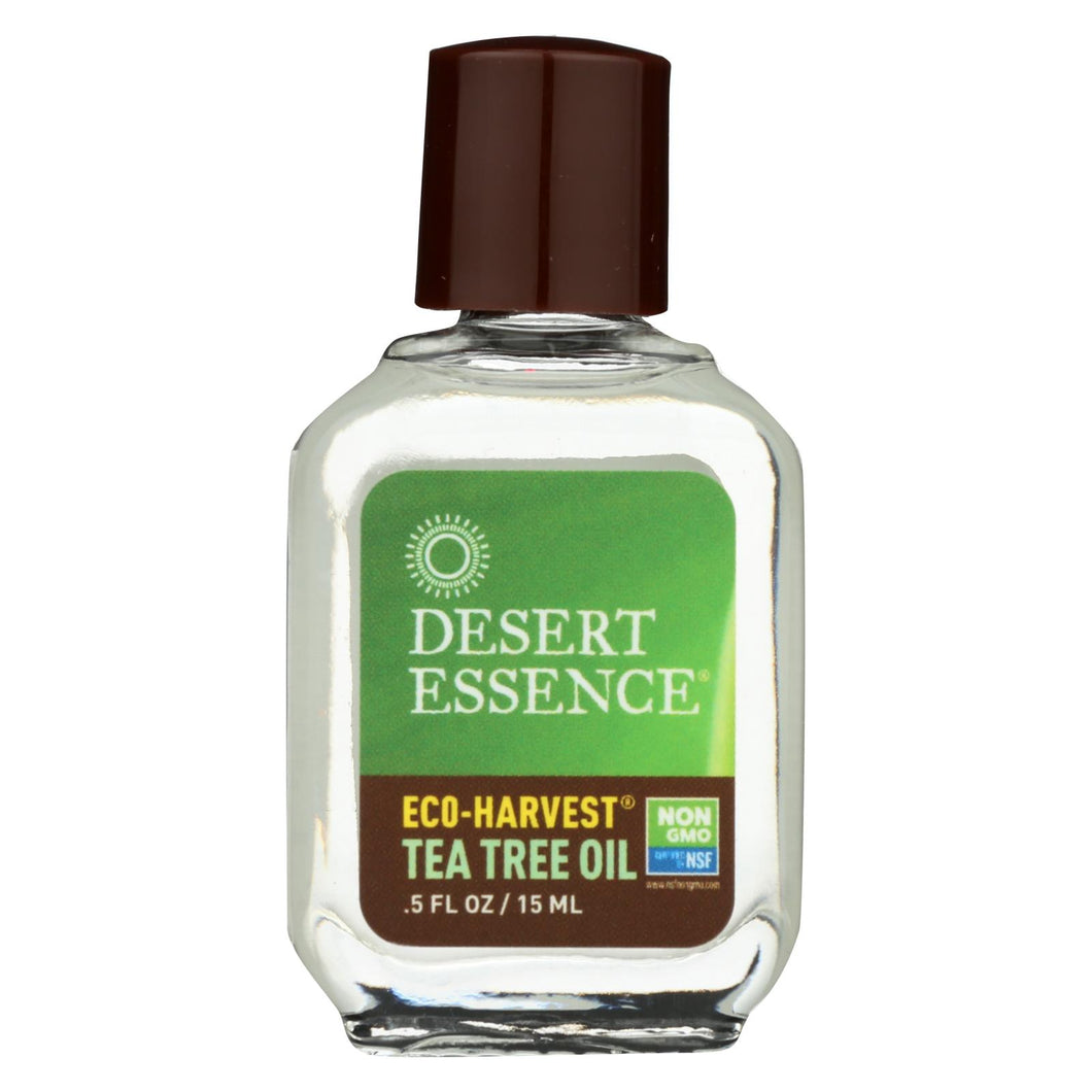 Desert Essence - Eco Harvest Tea Tree Oil - .5 Oz