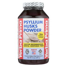 Load image into Gallery viewer, Yerba Prima Psyllium Husks Powder - 12 Oz