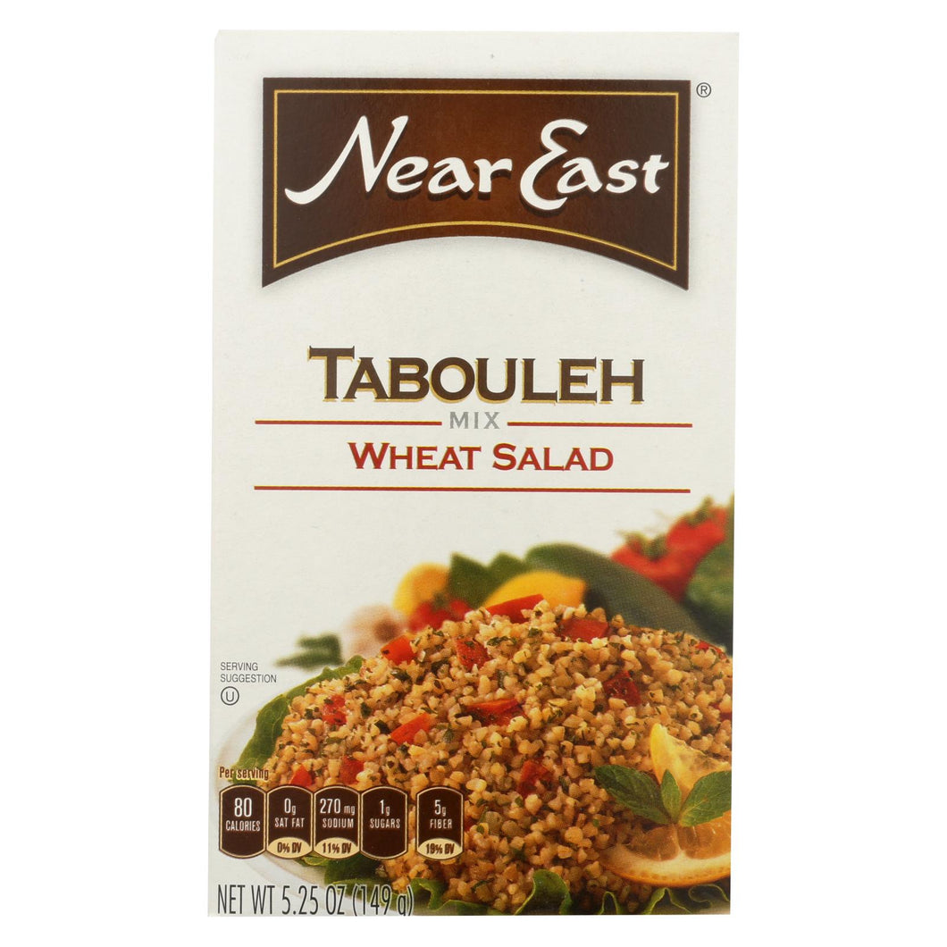 Near East Tabbouleh Mix - Wheat Salad - Case Of 12 - 5.25 Oz.
