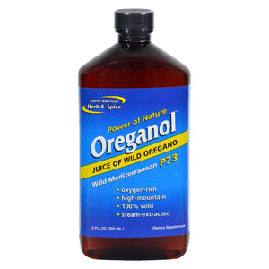 North American Herb And Spice Oreganol Juice Of Wild Oregano - 12 Fl Oz
