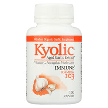 Load image into Gallery viewer, Kyolic - Aged Garlic Extract Immune Formula 103 - 100 Capsules