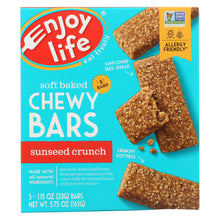 Load image into Gallery viewer, Enjoy Life - Snack Bar - Sunseed Crunch - Gluten Free - 5 Oz - Case Of 6