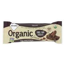 Load image into Gallery viewer, Nugo Nutrition Bar - Organic Double Dark Chocolate - 1.76 Oz - Case Of 12