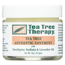 Load image into Gallery viewer, Tea Tree Therapy Antiseptic Ointment Eucalyptus Australiana And Lavender Oil - 2 Oz