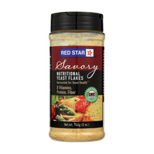 Load image into Gallery viewer, Red Star Nutritional Yeast Vegetarian Support Formula - Yeast Flakes - Mini - Case Of 6 - 5 Oz.