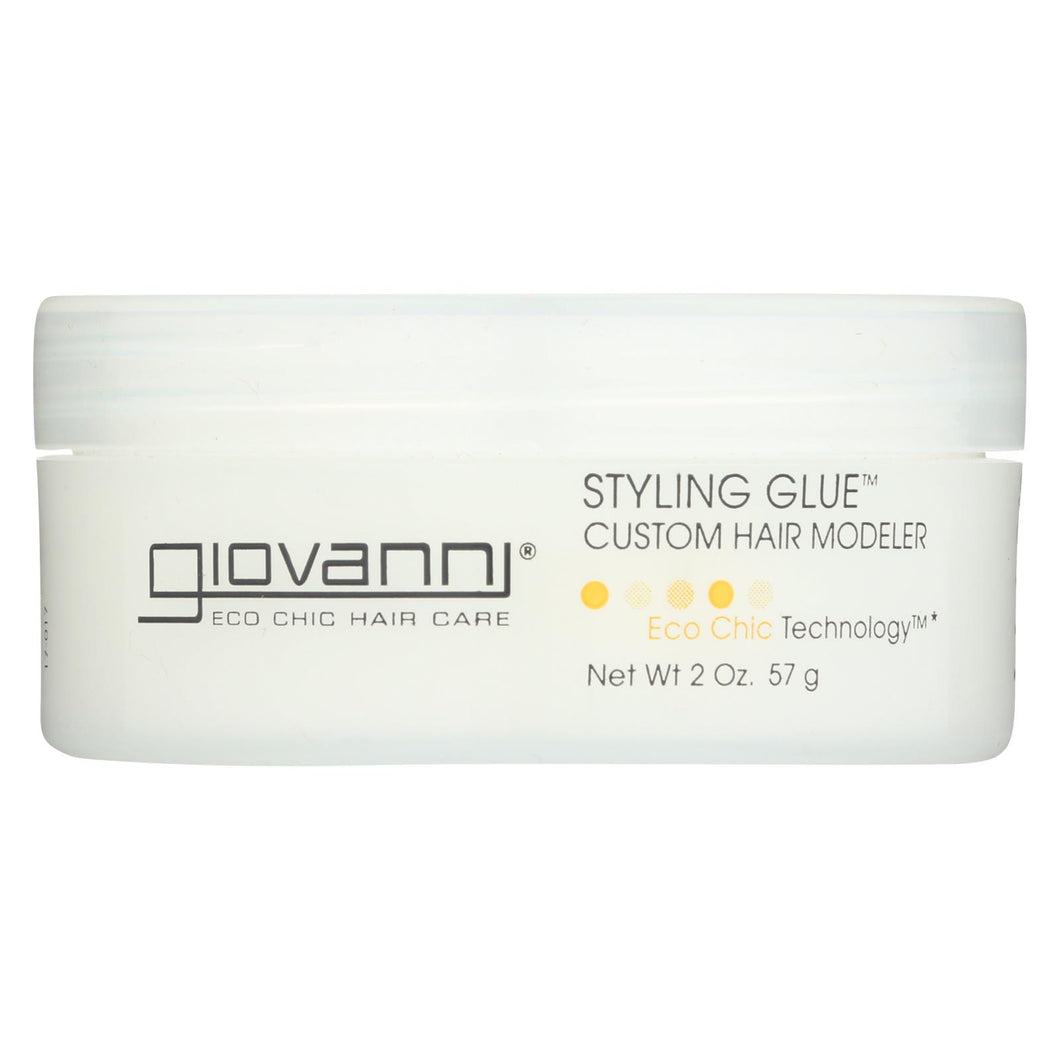 Giovanni Styling Glue Custom Hair Modeler - 2 Fl Oz