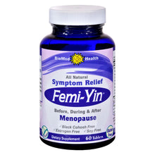 Load image into Gallery viewer, Biomed Health Femi-yin Peri And Menopause Relief - 60 Capsules