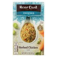 Load image into Gallery viewer, Near East Couscous Mix - Herb Chicken - Case Of 12 - 5.7 Oz.